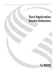 Duct Application Smoke Detectors - System Sensor
