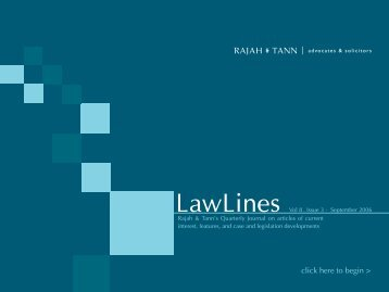 Lawlines Vol 8 Issue 3 - eOASIS