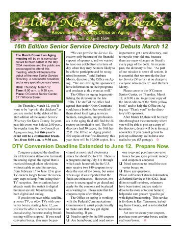ENV 09 mar-apr WEB - The Knoxville-Knox County Office on Aging