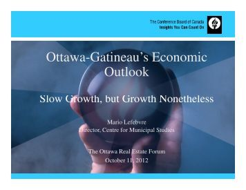 Ottawa REAL ESTATE FORUM - Real Estate Forums