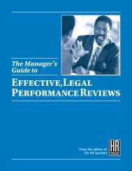Effective,Legal Performance Reviews