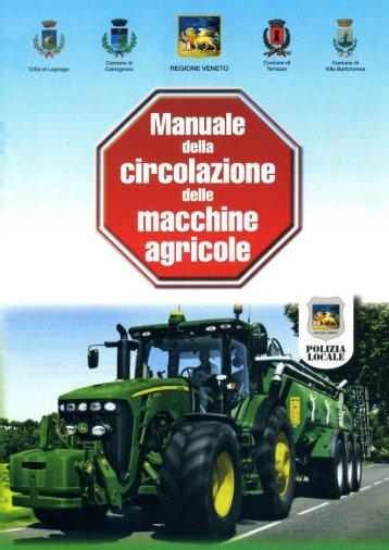 Manuale della circolazione delle macchine agricole