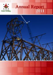 Annual Report 2011 - Delek Energy Systems