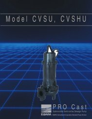cvsu / cvshu - BBC Pump and Equipment