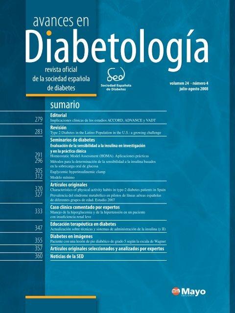 correo electrónico a y b pruebas de diabetes