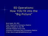 Big Picture - Council of Emergency Medicine Residency Directors