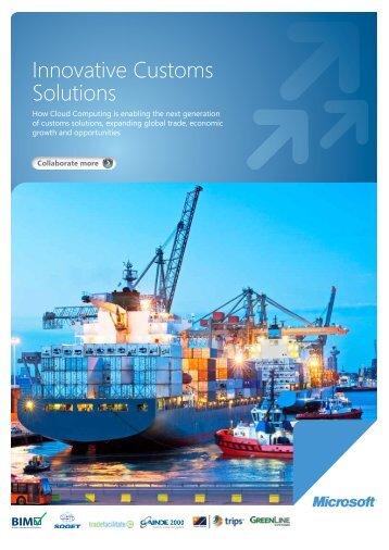 Innovative Customs Solutions - TechNet Blogs