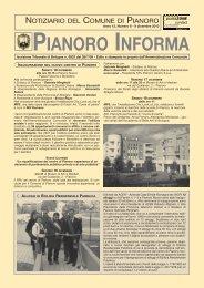 Anno 2010 n. 6 - Comune di Pianoro