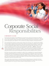 2007 Corporate Social Responsibility Report - Li Ning
