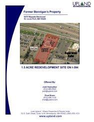 Former Bennigan's Property - Upland Real Estate Group