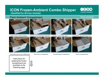 ICON Frozen-Ambient Combo Shipper - ICON plc