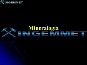 ¿Qué es un mineral? - Ingemmet