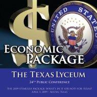 The Texas Lyceum - Jackson Walker LLP