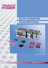 SCHALTNETZTEILE DC/DC-KONVERTER - traco-electronic.de