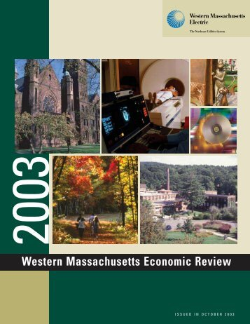 Western Massachusetts Economic Review - Northeast Utilities