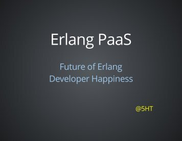 Erlang PaaS - Synrc