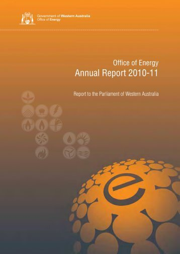 Annual Report 2010-11 - Department of Finance