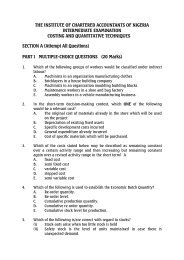 Pilot Questions and Answers for Intermediate - The Institute of ...