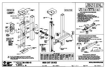 8600 Installation Instructions
