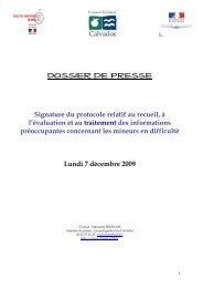 Signature du protocole relatif aux informations concernant les ...