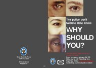 why should you? - West Midlands Police and Crime Commissioner