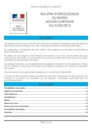 Bulletin du 01-06-2013 - DREAL Midi-Pyrénées