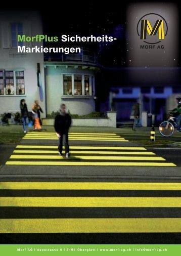 Sicherheitsmarkierung (PDF 1.1 MB) - Morf AG