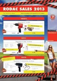 RODAC SALES 2013 - Tinnemans.nl