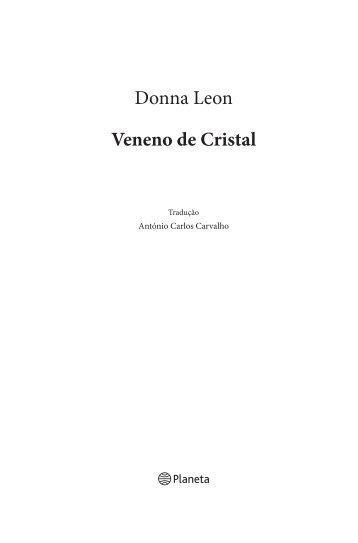 Donna Leon Veneno de Cristal - Planeta