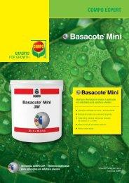 Folheto Basacote Mini - COMPO EXPERT
