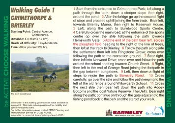 Walking Guide 1 - Barnsley Council Online