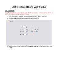 USB Interface II and FLdigi Setup - microHAM