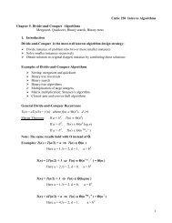 Mergesort, Quicksort, Binary Search, Binary Trees