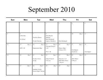 calendar 2010-11 - Whspfa.org