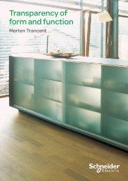about Merten Trancent - Schneider Electric
