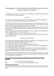 Bekendtgørelse om BELTREP 2013 Ver 14-05-2013 Hørings ... - Net