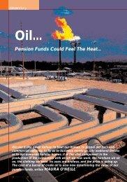 Oil turns up the heat on pensions - Maura O'Neill - Irish Association ...