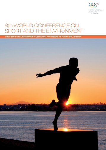 8th WORLD CONFERENCE ON SPORT AND THE ENVIRONMENT