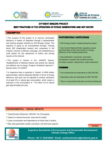 COP 16 argentina climate change portfolio 2