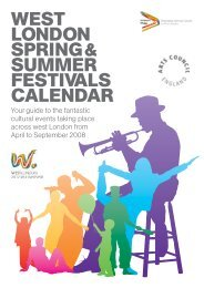 Summer Festivals calendar.pdf - Westminster City Council