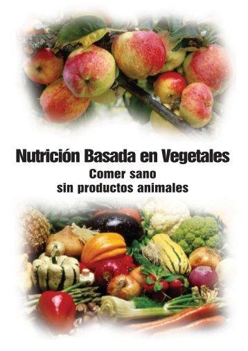 Nutrición Basada en Vegetales - Unión Vegetariana Española
