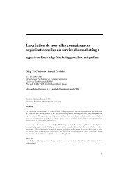 Apports du Knowledge Marketing par Oleg Curbatov - Grasse