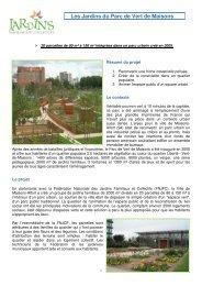 Les Jardins du Parc de Vert de Maisons