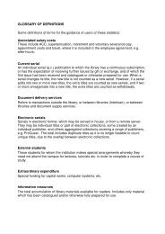 GLOSSARY OF DEFINITIONS Some definitions of terms for the ...
