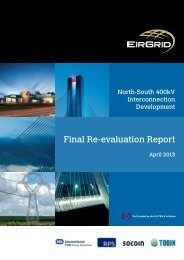 North South 400kV Final Re-evaluation report - EirGrid Projects