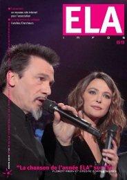 ELA Infos n°69 – mars 2010