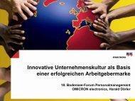 Innovative Unternehmenskultur als Basis einer erfolgreichen ...