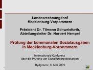 Prüfung der kommunalen Sozialausgaben in ... - Eurorai.org