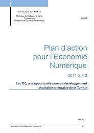 Plan d'action - Ministère des Technologies de l'Information et de