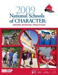 2009 Winners - Character Education Partnership